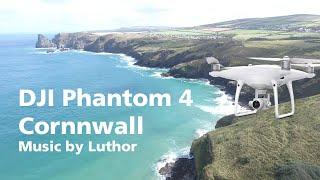 DJI Phantom 4, Perranporth, Cornwall Music By Luthor