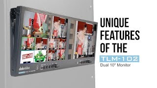 "【Official】Unique Features of the TLM-102 Dual 10"" Monitor"