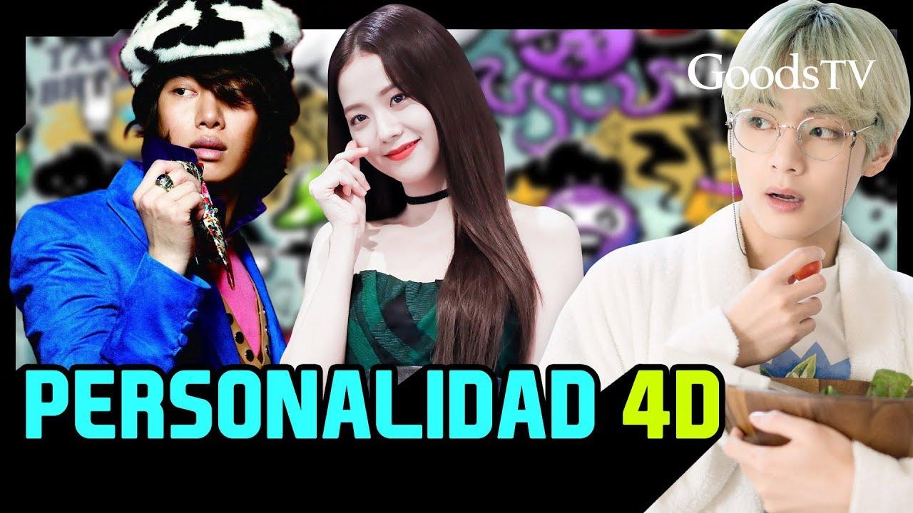 ¡Kpop IDOLS que tienen PERSONALIDAD 4D!