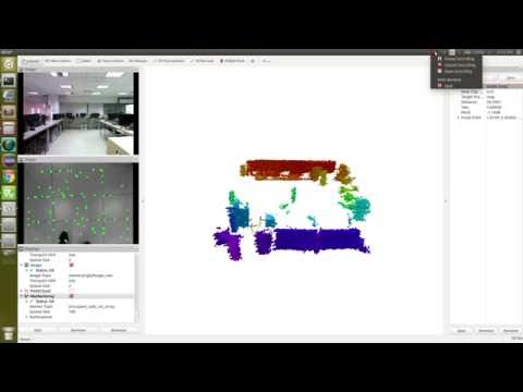 Intel R200 + librealsense pointcloud example - смотреть онлайн на