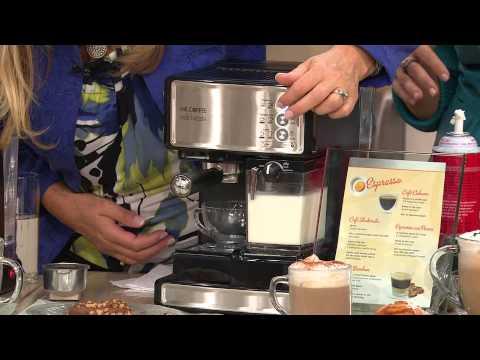 , Mr. Coffee Cafe Barista Espresso and Cappuccino Maker, Silver