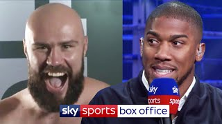 Anthony Joshua reviews Alen Babic's 2nd round demolition of Shawndell Winters ????