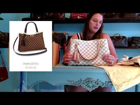 Brand New from Louis Vuitton and Straight to YOU! the Lymington Review/Unboxing/Reveal