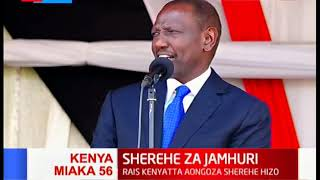 Ruto: Accelerating the big four agenda will ensure a decent meal for every Kenyans