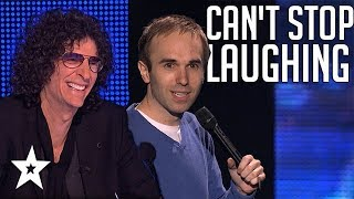 Quick Comedian Gets All Round Laughs on America