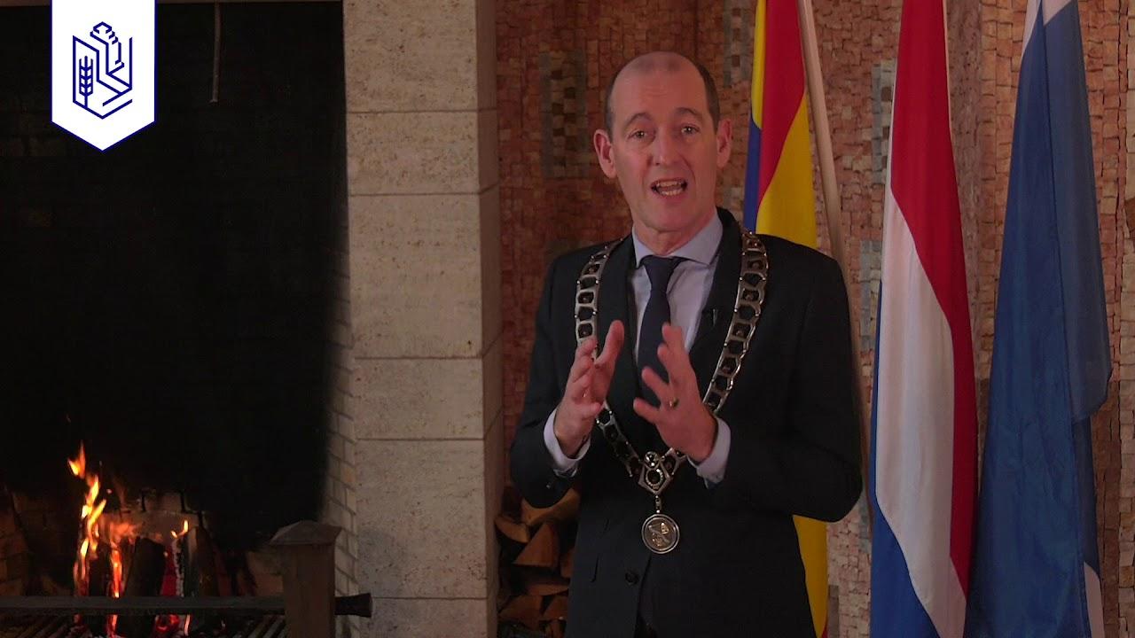 Nieuwjaarstoespraak burgemeester Schelberg