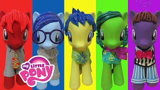 "Play Doh ""INSIDE OUT"" Joy Sadness Disgust Anger Fear Inspired Costumes My Little Pony"