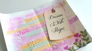 Art Journal #1. Dream, Wish, Hope. Inspírate conmigo