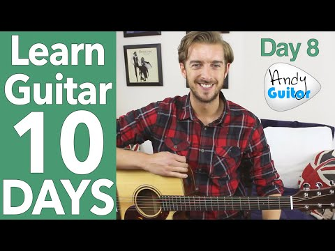 Guitar Lesson 8 - G Major Scale & NEW Song! [10 DAY Guitar Course]