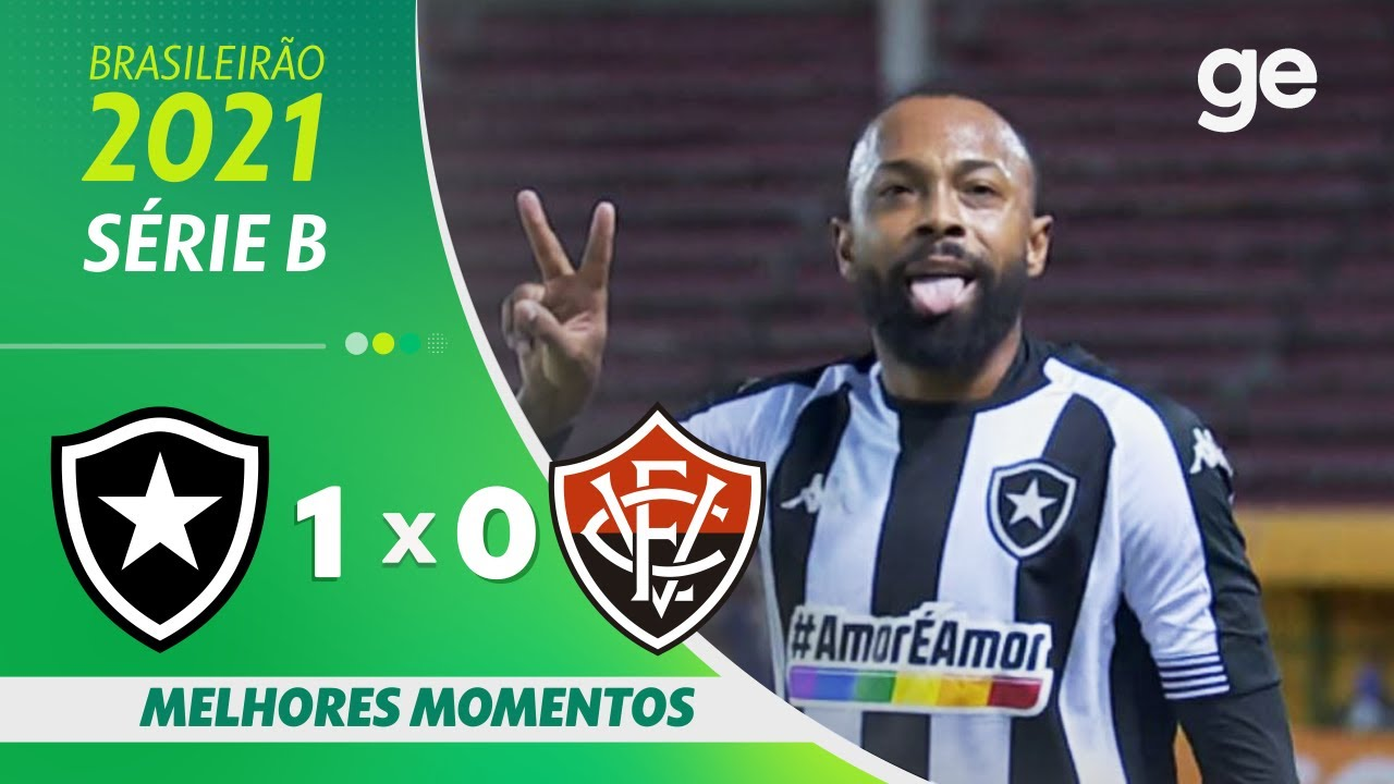 VÍDEO: Gol e melhores momentos de Botafogo 1×0 Vitória pela Série B