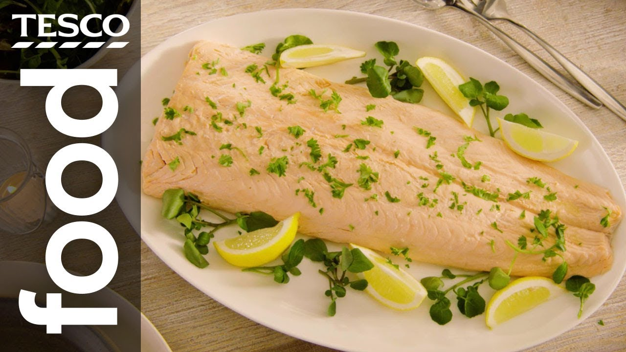 How to poach salmon