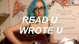 Read U Wrote U - RuPaul feat. Alaska, Detox, Katya + Roxxxy Cover