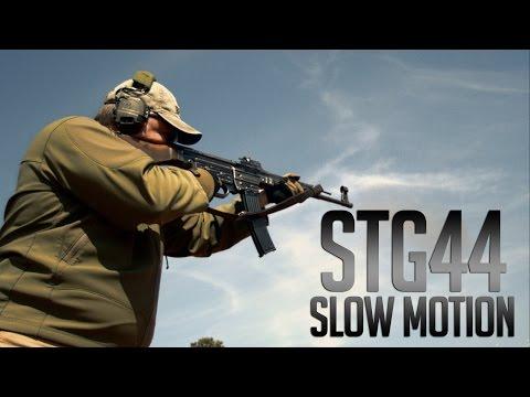 Sturmgewehr in Ultra Slow Motion