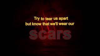 Scars - I Prevail with Lyrics