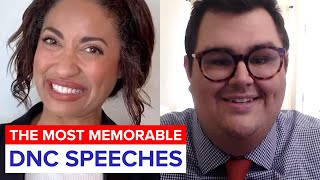 The Most Memorable DNC Speeches