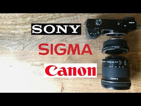 Canon EF-S 10-18mm + Sigma MC-11 + Sony A6000