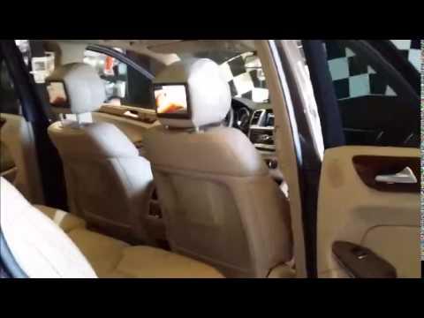 Instalar pantalla reposacabezas y navegador en Mercedes. Madrid Audio