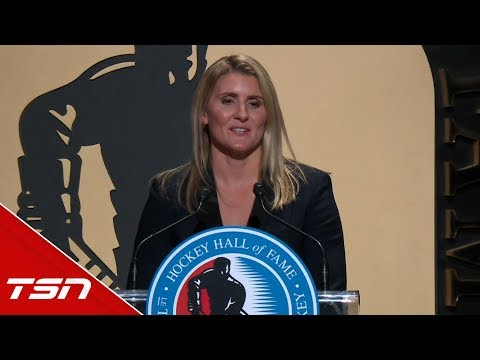 Wickenheiser: 'To play for my country is the greatest honour in my life'