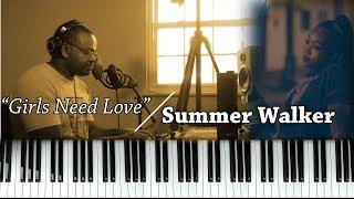 Piano Lesson   Summer Walker   Girls Need Love (ft. Drake)