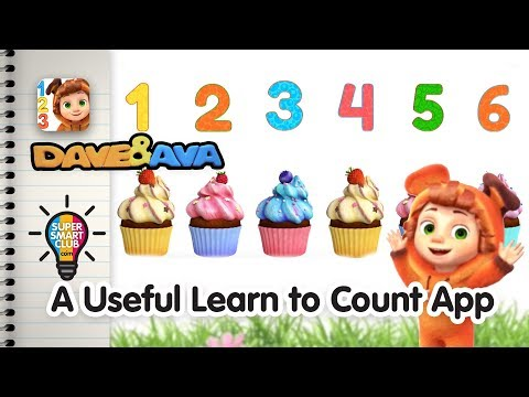 Great Number Tracing & Counting Lessons with Dave and Ava [iPhone Demo]
