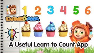 Super Cute Number Tracing & Counting With Dave And Ava App