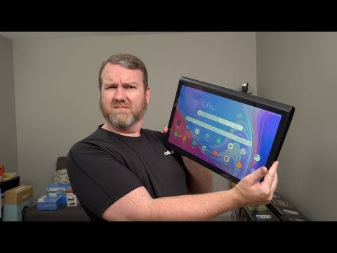"ENORMOUS 17"" Android Tablet! Samsung Galaxy View2 Unboxing and Hands On"