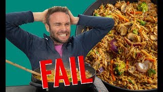 5 MINUTE DINNER FAIL! | EASY VEGAN DINNER FOR WEIGHT LOSS