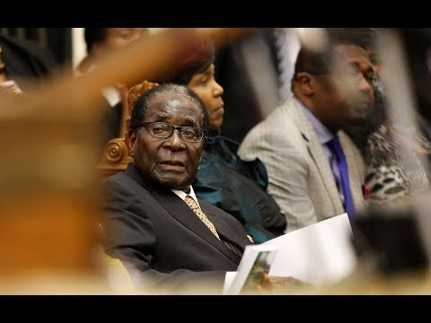 After ouster from his own party, Zimbabwe president refuses to resign