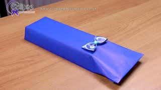 Gift Wrapping Awkward Shapes Tutorial