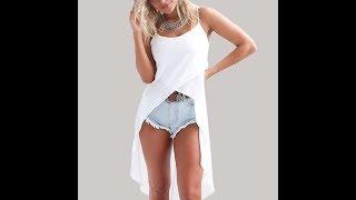 Летняя Одежда с AliExpress - Шифоновое пляжное платье