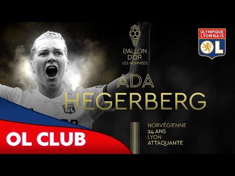Nominée Ballon d'or : Ada Hegerberg   Olympique Lyonnais