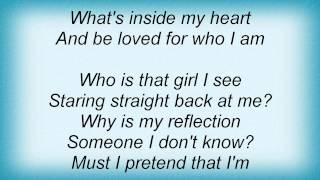 Jordin Sparks - Reflection Lyrics