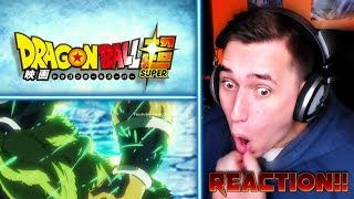 AKIRA TORIYAMA'S VISION!| *NEW!* Dragon ball Super MOVIE Teaser trailer REACTION!