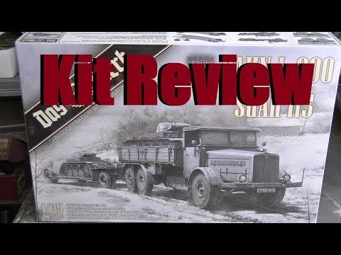 Kit review: Das Werk Faun L900 with Sd. Ah. 115 in 1/35 scale