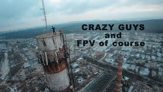 It was scary to watch even through FPV drone