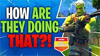 HOW ARE THEY DOING THIS?! #FallSkirmish