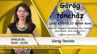 Programajánló / TV Szentendre / 2018.04.05.
