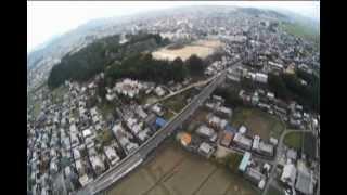 The Ninja Can Fly In Japan!!  The Flat Top Ninja Paramotor From U-Turn USA Rocks!