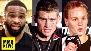 Tyron Woodley Responds To Colby Covington