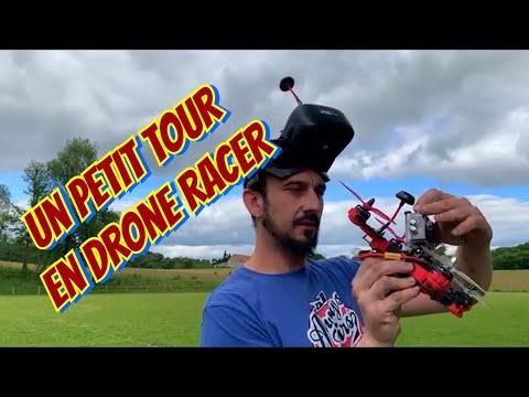 Drone  racer pnj r racer , petit vol
