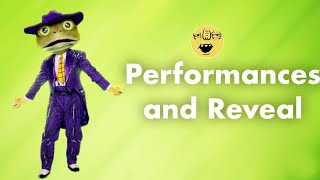 Frog | Performances and Reveal | Season 3 | THE MASKED SINGER