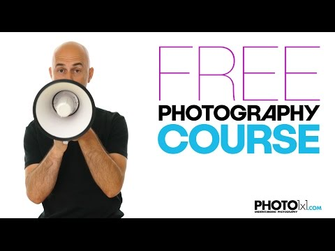 Free PHOTOGRAPHY COURSE, learn everything you need to know ...