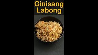 Ginisang Labong | Sautéed Bamboo Shoots
