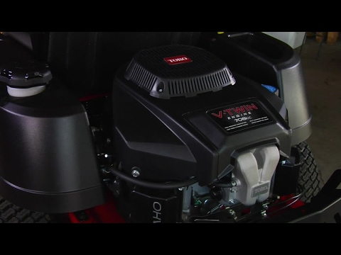 Look for Toro Commercial V-Twin Engines on Zero Turn Mowers