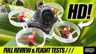 WORLD'S SMALLEST HD DRONE! - Happymodel Mobula6 HD - FULL REVIEW & FLIGHTS