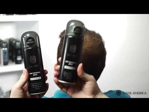 Mane America Hair Thickening spray Step By Step Guide