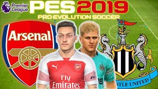 Arsenal Vs Newcastle Prediction | English Premier League 1st Apr | PES 2019 Gameplay