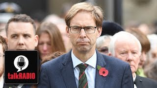 Tory MP Tobias Ellwood and Mike Graham clash over no-deal Brexit
