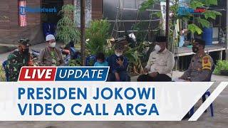 Momen Jokowi Video Call Bocah Yatim Piatu di Tenggarong yang Azan di Makam Orangtua & Videonya Viral