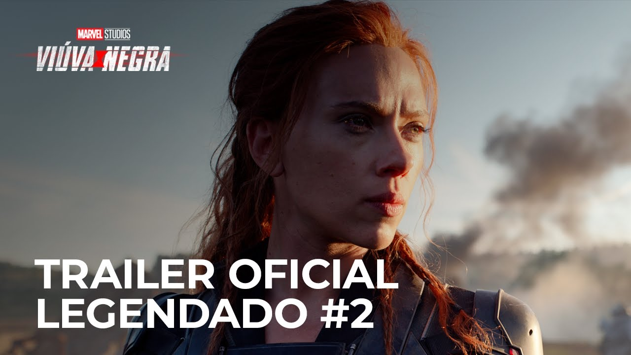Viúva Negra | Trailer Oficial - Legendado